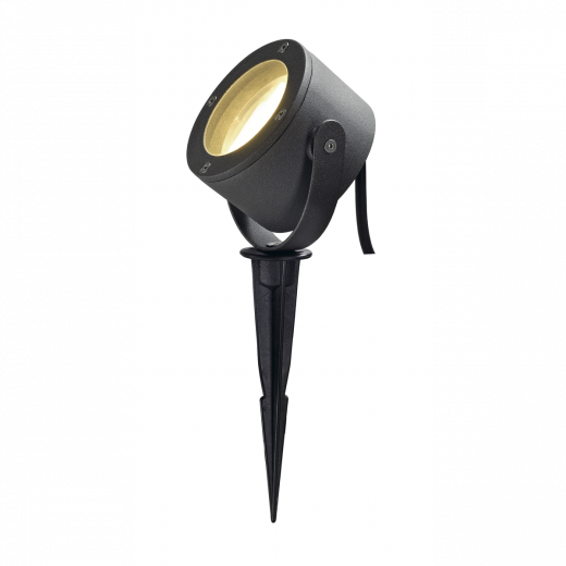 Sitra 360 - Anthracite 230v GX53 IP44  Max 9w 120 Degree Wide Beam Spike Light (Lamp Sold Separately)