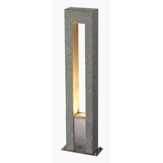 Arrock Arc - Granite IP44 Maximum Wattage 35w GU10 230v 70cm Height - Bollard