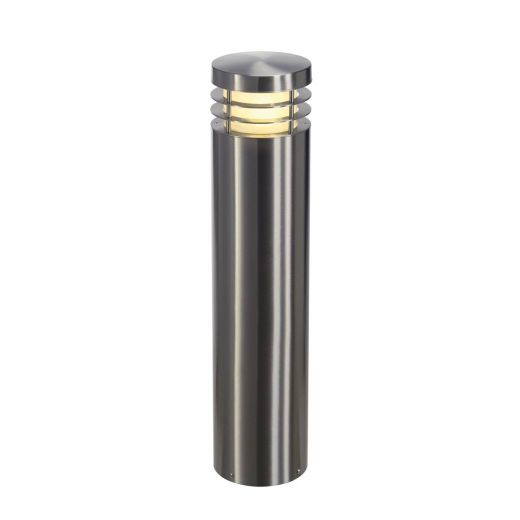 VAP 70 - 304 Stainless Steel IP44 230v E27 23w Max LED 70cm Tall - Surface Mounted Bollard- Choice Of 3 Heights