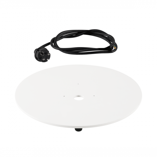 Light Pole outdoor installation plate with 2m cable