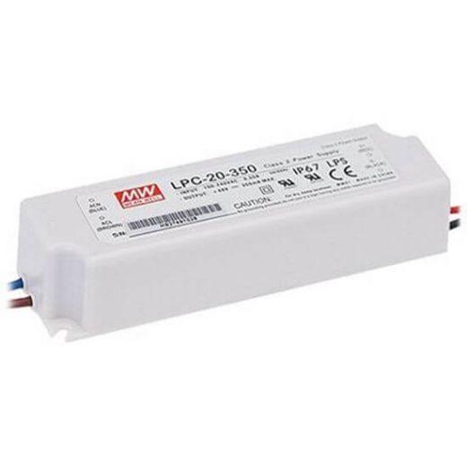 Meanwell 16.8W 350mA IP67 LED Driver
