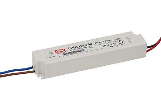 MEANWELL 18W 700MA IP67 LED DRIVER