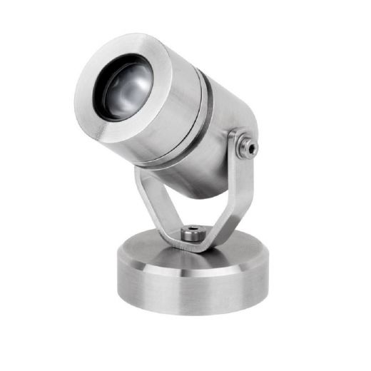 LV Surface Mounted Underwater Light.  316 Stainless Steel. Made to order up to 4 weeks