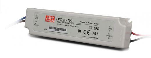 Meanwell 33.6W 700mA IP67 LED Driver