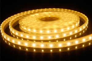 MicroLED 12v 10x6mm - Warm White LED - 5 Metres - 325lm
