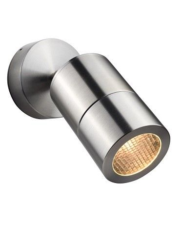Compact 12v - 316 Stainless Steel IP65 MR16 - Adjustable Wall Light