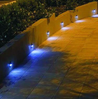 Vela Steplight - 12v - G4 IP65 Dark Bronze Finished Brass Body Garden Step Light Plug & Play - Choice Of 3 Finishes