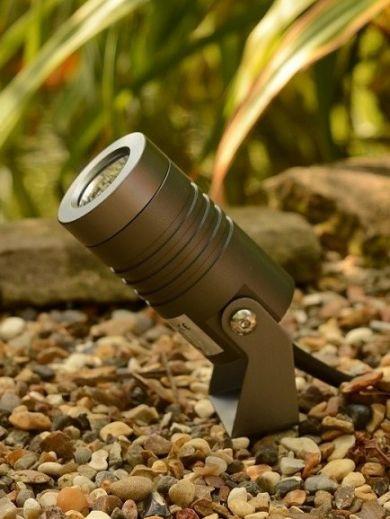 Spike5 - Anthracite 240v IP67 5w 2700k 400 Lumens 38 Degree Beam Angle Spotlight Available in Black
