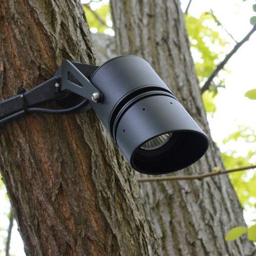 Titan 10 LED Black 10w 12v DC 3000k 36 Degree Beam Angle 750 Lumens IP65 Spotlight
