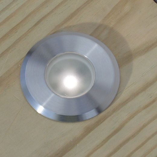 Navigator Mono 12v DC 316 Stainless Steel Recessed Deck Light 2700k 0.5w 60 Lumens IP65