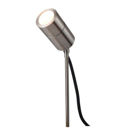 Compact Spike Spotlight, 240v 316 Stainless Steel, GU10, IP65