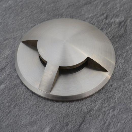 Waymarker 180 - 12v 316 Stainless Steel Bezel & Aluminium Body With 2 Windows Giving 180 Degree Light IP65 MR16