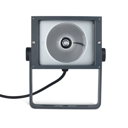 Apollo - 240v - Dark Grey Aluminium IP65 70w Metal Halide 36 Degree Beam Angle Surface Or Spike Mounted Spotlight