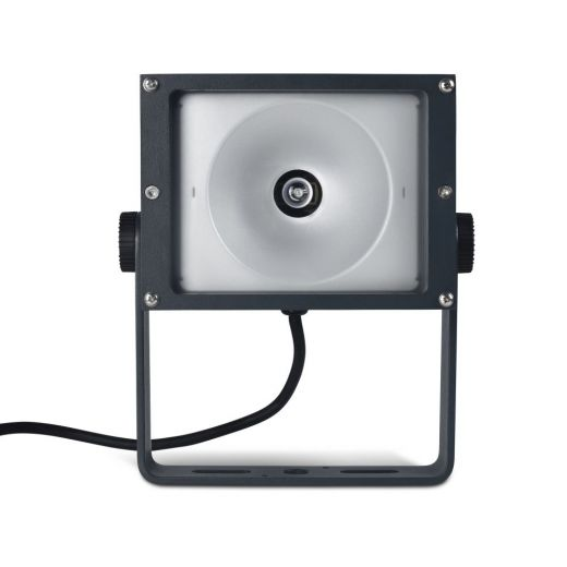 Apollo - 240v - Dark Grey Aluminium IP65 70w Metal Halide 60 Degree Beam Angle Surface Or Spike Mounted Spotlight