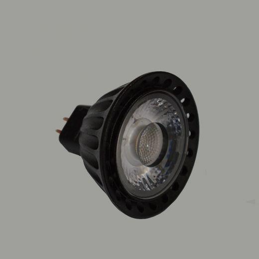 3w 250lm MR16 COB Lamp Warm White 3000K 60 degree