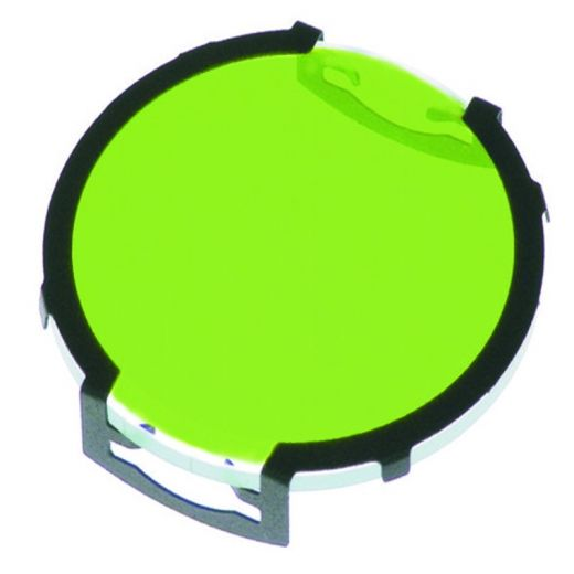 Clip-on green filter