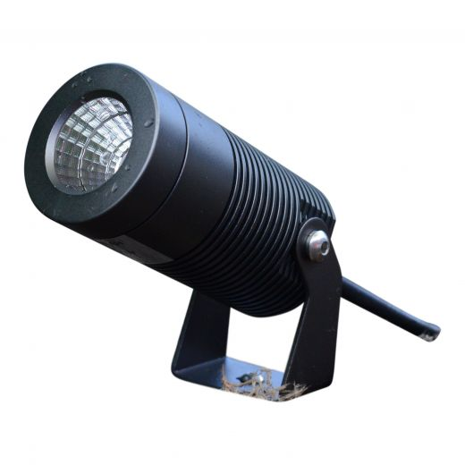 Spike8 - Anthracite 240v - IP67 8w 2700k 640 Lumens 36 Degree Beam Angle Spotlight Available In Black