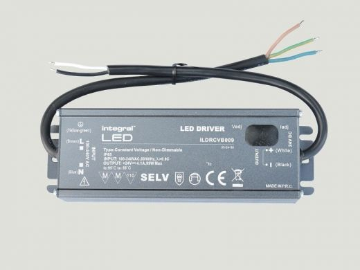 Elipta 99w - 24v DC Potted IP65 Power Supply - Sheathed Cables