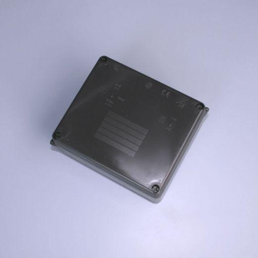 IP65 junction box (plain sides) - Black - 160 x 120 x 71mm