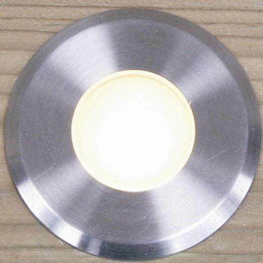 Navigator Maxor 12v DC 316 Stainless Steel Recessed Deck Light 2700k 1w 101 Lumens IP65
