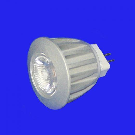 3w MR11 COB Lamp - Warm White 25 degree 12v - 250LM