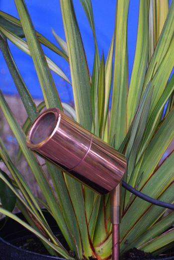 Smartspike 60 - Copper IP65 240v Max Wattage 35w GU10 - Spike Spotlight