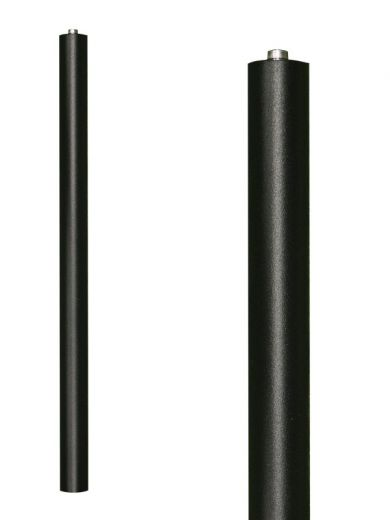 AlvaLED 40cm Riser Pole with Ground Spike Black/ Silver/ Cocoa/Green