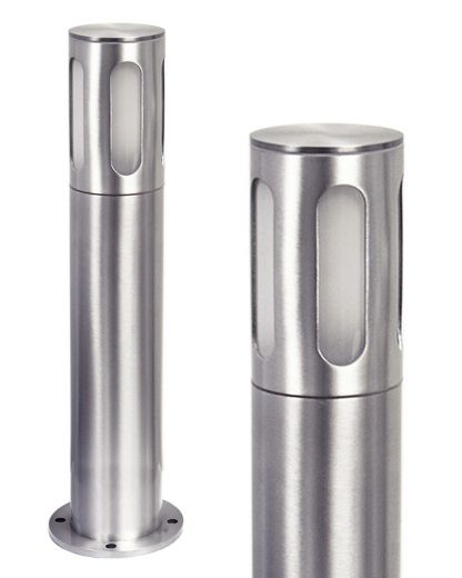 Litetower – Anodised Aluminium IP65 E27 220 -240v Surface Mounted Bollard - Choice Of 4 Height Options