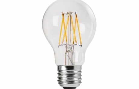 6W LED Filament GLS Bulb, ES, Daylight White 6500k - 240v