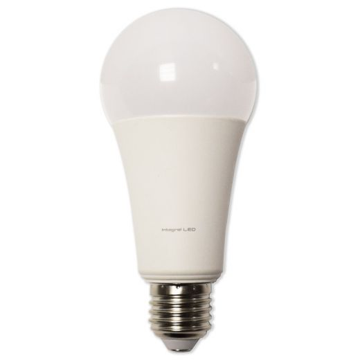 INTEGRAL 18W LED GLS BULB COOL WHITE OR WARM WHITE