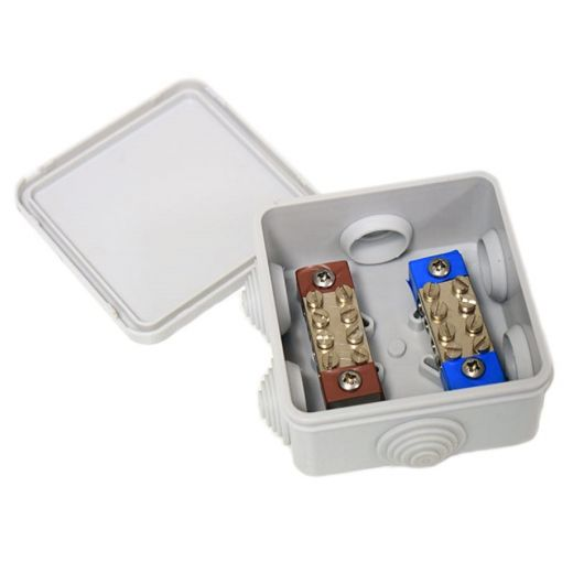 EAZYLINK4 - Waterproof 4 Way Connection Box 12v