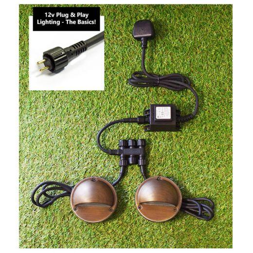 12v Transformer 100w - Plug & Play (240v - 12v Converter)