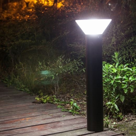 Pro Solar OLYMPIA – 800mm Black Solar Path Light with 6000k or 3000k LEDs