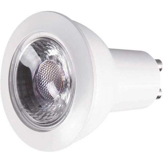GU10 PAR16 7W (65W) 2700K 520lm Dimmable Lamp 55 deg Beam Angle