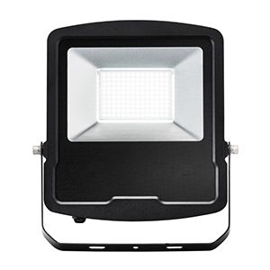 Mantra - 240v - Black - 100w IP65 Daylight White 6500k 8000 lumens - Floodlight
