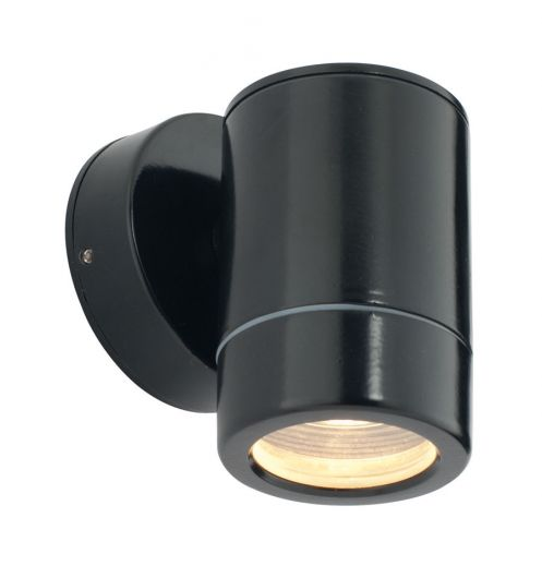 Odyssey, black powder coated, fixed down light, IP44, 35W GU10