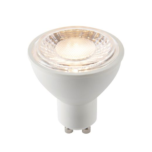 GU10 LED SMD dimmable 7W warm white 60 degree beam angle 550 lumens
