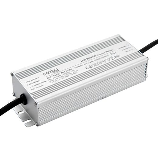 LED driver constant voltage iP67 24V 150W IP67