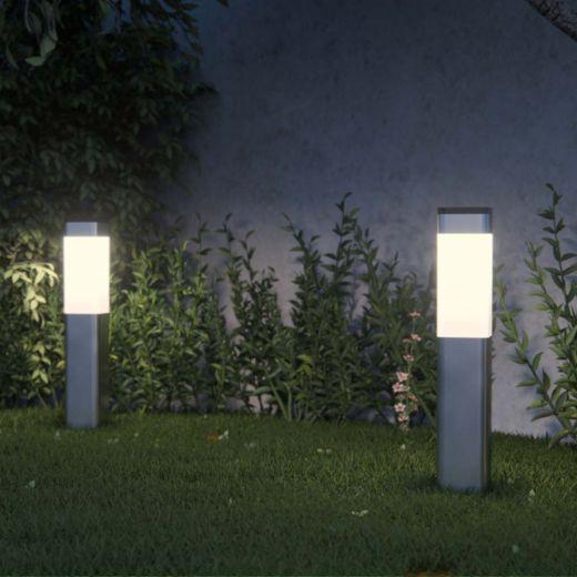 Kodiak Solar Post Lights (Set Of 2)