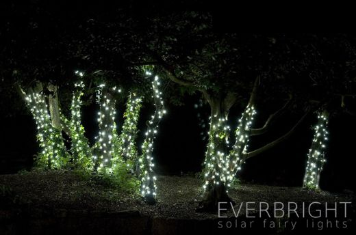 Lumify USB Solar Fairy Lights - Warm White 300 LEDs