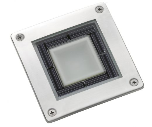 Solar Square Deck Light